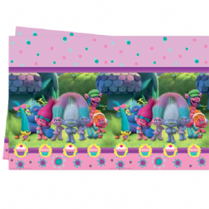 Trolls Party Tablecover | Free Delivery